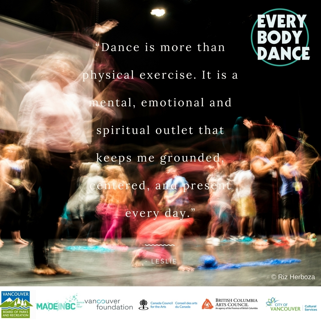 Quote #1 - EveryBody Dance Social Media Campain